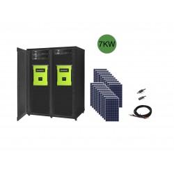 7kw kit solaire autonome